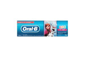 ORAL_B Зубна паста Kids для дiтей Легкий смак Frozen/Cars 75мл