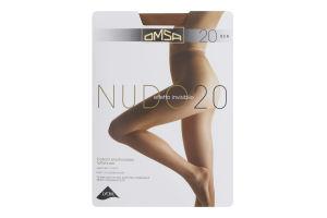 Колготки жіночі Omsa Nudo №219OM 20den 4-L cappuccino