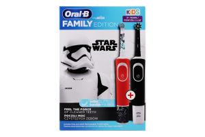 Набор щеток зубных электрических Family Edition Oral-B 1шт