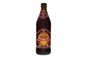 Пиво 0.5л 4% темне живе Павлівське Павлівський пивзавод пл