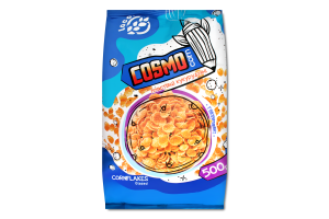 Пластівці кукурудзяні глазуровані Cosmocorn м/у 500г