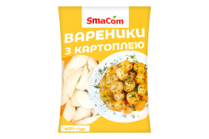 Вареники с картофелем SmaCom м/у 800г