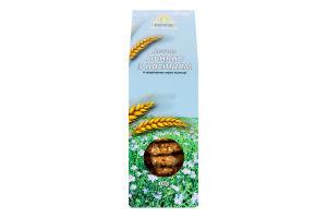 Печиво з пророщених зерен пшениці Льняне з насінням Росток к/у 180г