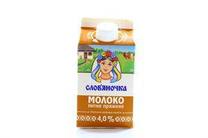 Молоко Киев Славяночка топленое т/п 4% 500г