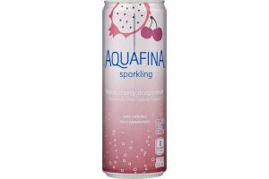 Aquafina Sparkling Black Cherry Dragonfruit Sparkling Water Beverage