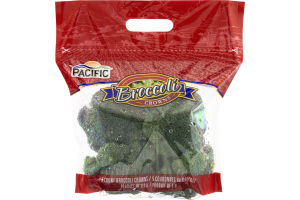 Pacific Broccoli Crowns - 5 CT