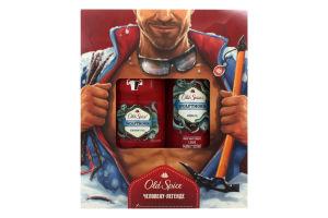 Набор гель для душа+дезодорант Wolfthorn Old Spice 1шт