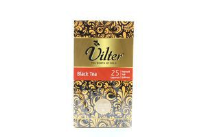 Чай черный цейлонский Vilter к/у 25х2г