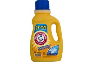 Arm & Hammer Laundry Detergent Liquid Clean Burst - 32 Loads