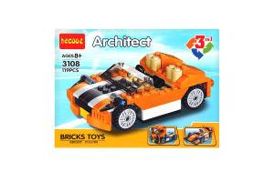 Іграшка Architect конструктор Машинка 3в1 арт.3108 х6