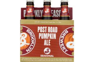 Brooklyn Brand Ale Pumpkin - 6 CT