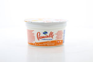 Творог 7% Cottage cheese кисломолочный зернистый абрикос-мед MilkLife Premialle 150г