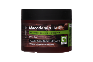 Маска для волос Восстановление и защита Macadamia Hair Dr.Sante 300мл