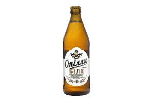 Пиво Опілля біле нефільтр 0,5л