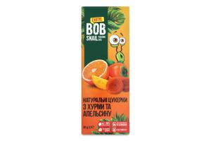 Цукерки фруктові Хурма-апельсин Bob Snail к/у 30г