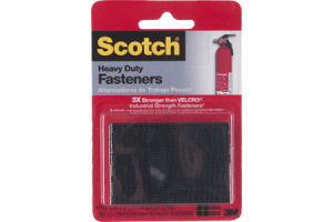 Scotch Fasteners Heavy Duty Black