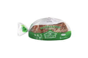 Хліб заварний половинка в нарізці Юріївський Теремно м/у 0.5кг