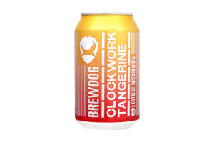 Пиво BrewDog Clockwork Tangerine светлое ж/б