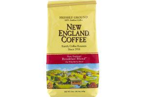 New England Coffee New England Breakfast Blend Ground 100% Arabica Coffee
