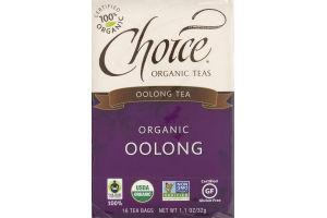 Choice Organic Teas Oolong Tea - 16 CT