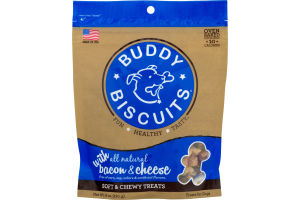 Cloud Star Buddy Biscuits Soft & Chewy Bacon & Cheese