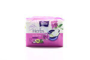 Прокладки Herbs Verbena гигиенические Bella 12шт