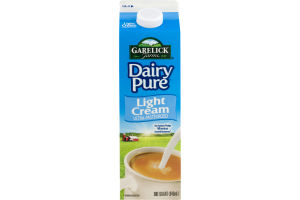 Garelick Farms Dairy Pure Light Cream