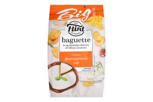 Сухарики пшеничні зі смаком французький сир Flint Baguette м/у 150г