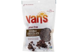 Van's Simply Delicious Double Chocolate Whole Grain Granola Clusters Gluten Free