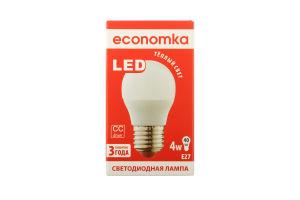 Лампа світлодіодна Economka LED G45 4W E27 2800K 1шт