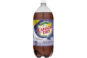Canada Dry Ginger Ale Blackberry