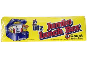 Utz Jumbo Lunch Box Variety Pack - 22 CT