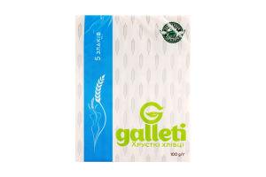 Хлебцы 5 злаков Galleti м/у 100г