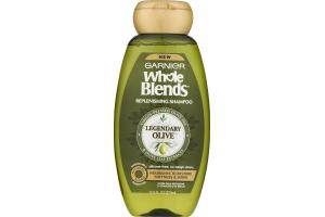 Garnier Whole Blends Replenishing Shampoo Legendary Olive