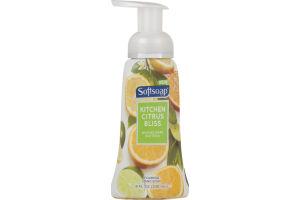 Softsoap Foaming Hand Soap Kitchen Citrus Bliss
