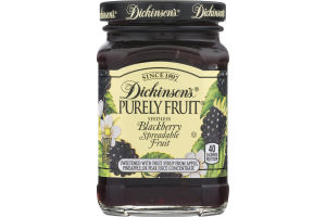 Dickinson's Purely Fruit Blackberry Spreadable Fruit Seedless