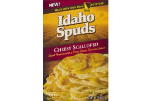 Idaho Spuds Cheesy Scalloped Potatoes