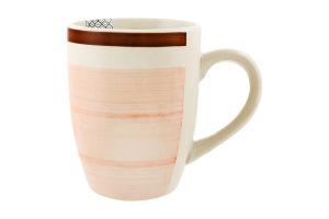 Чашка Eat&Drink розовая 270мл