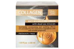 Крем денний проти зморшок з мінералами Collagen Dead Sea Collection 50мл