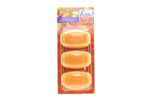 Мыло туалетное Juicy Peach Fax 3х115г
