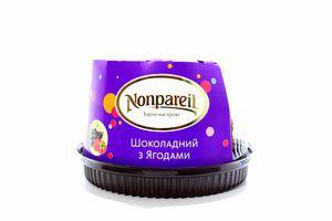 Торт шоколадный с ягодами Nonpareil 0,5кг