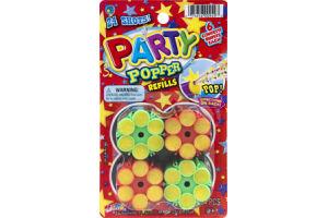 Ja-Ru Party Popper Confetti Refills- 4 CT