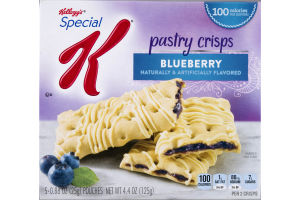 Kellogg's Special K Pastry Crisps Blueberry - 5 CT