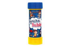 Мыльные пузыри для детей от 3лет №BB-11 Булька Bubble 60мл