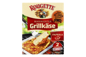 Сыр 55% мягкий маринованный с паприкой Grillkase Rougette к/у 2х90г