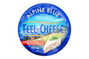 Сир 50% м'який Alpine Blu Feel the Cheese м/у 150г