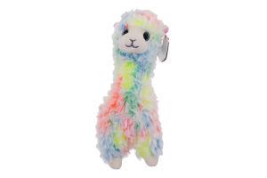 Игрушка мягкая для детей от 3лет 15см №41217 Разноцветная лама Lola Beanie Boo's TY 1шт