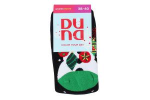 Шкарпетки жіночі Duna №3102 23-25 чорний