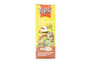 Шарики для грызунов орехово-овощные Topsi 140г