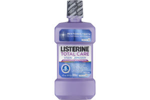 Listerine Total Care Stain Remover Anticavity Mouthwash Fresh Mint